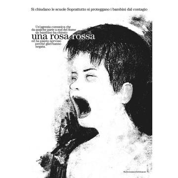 MARA CERRI - L'INVENZIONE DELL'AMORE - Una rosa rossa