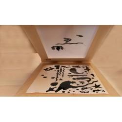 KIT Completo PER Stampare CON la Serigrafia Grande